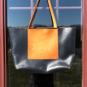 Handbags - Genuine Leather Handcrafted Unlined Tote